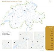 Geografie Schweiz Flüsse