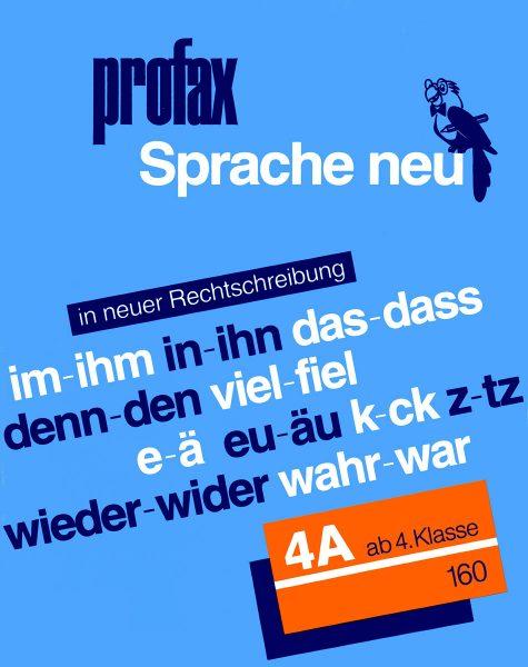 Sprache neu 4A