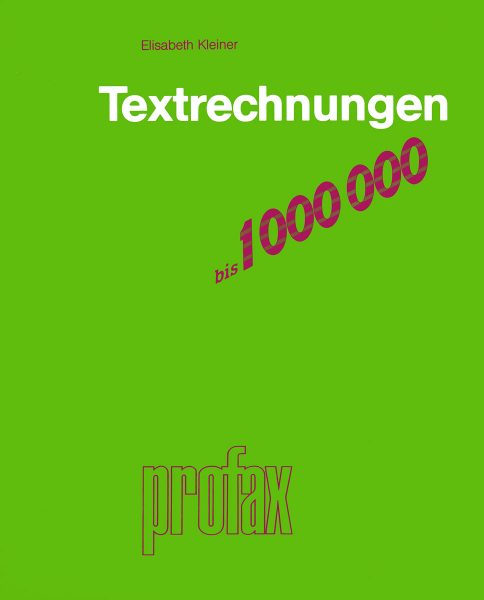 Textrechnungen bis 1'000'000