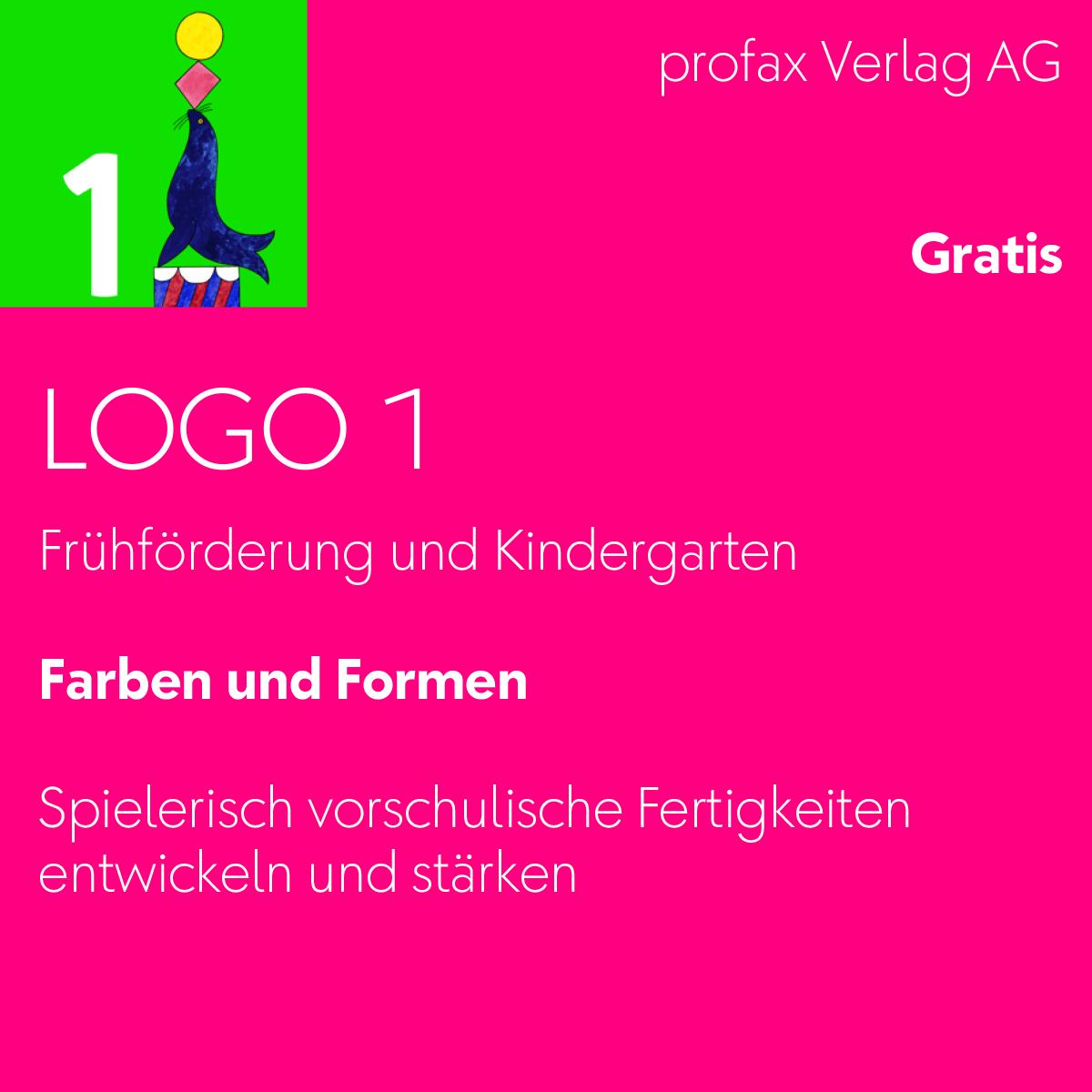 Logo 1 – Farben und Formen