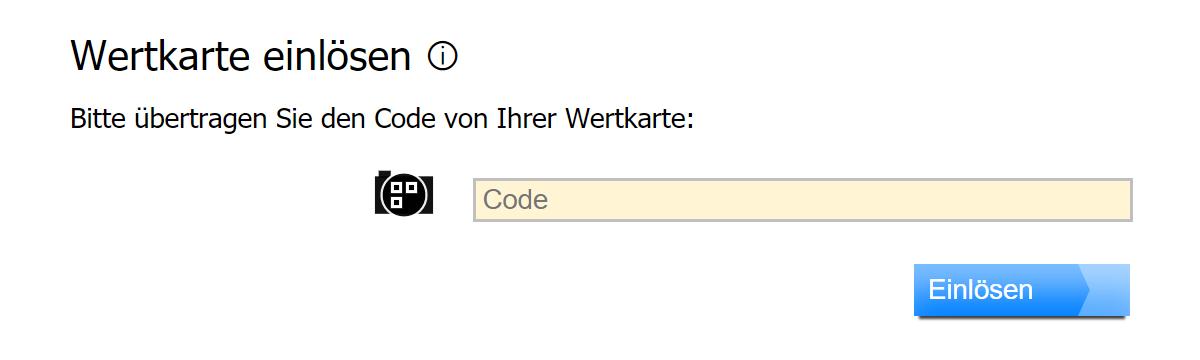 Code bei profaxonline einlösen