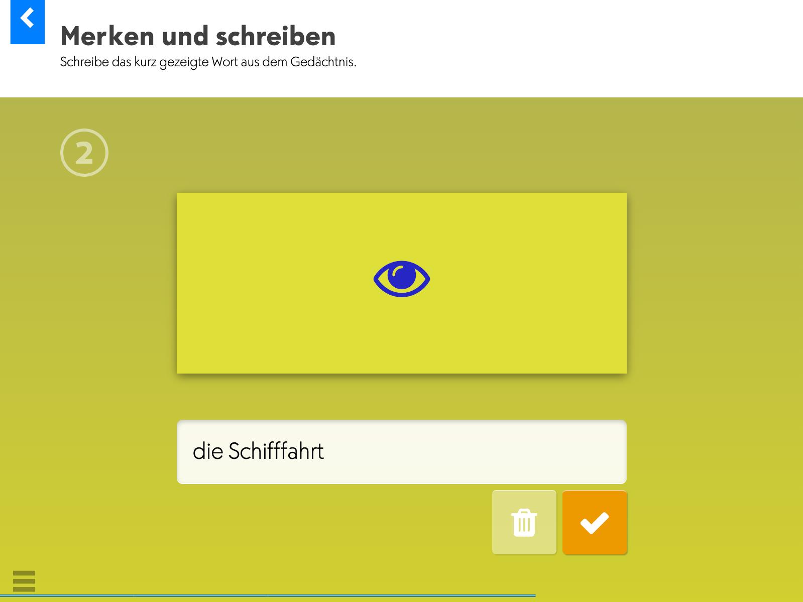 Wortkartei: Deutsch (Station 2) – Merken und schreiben