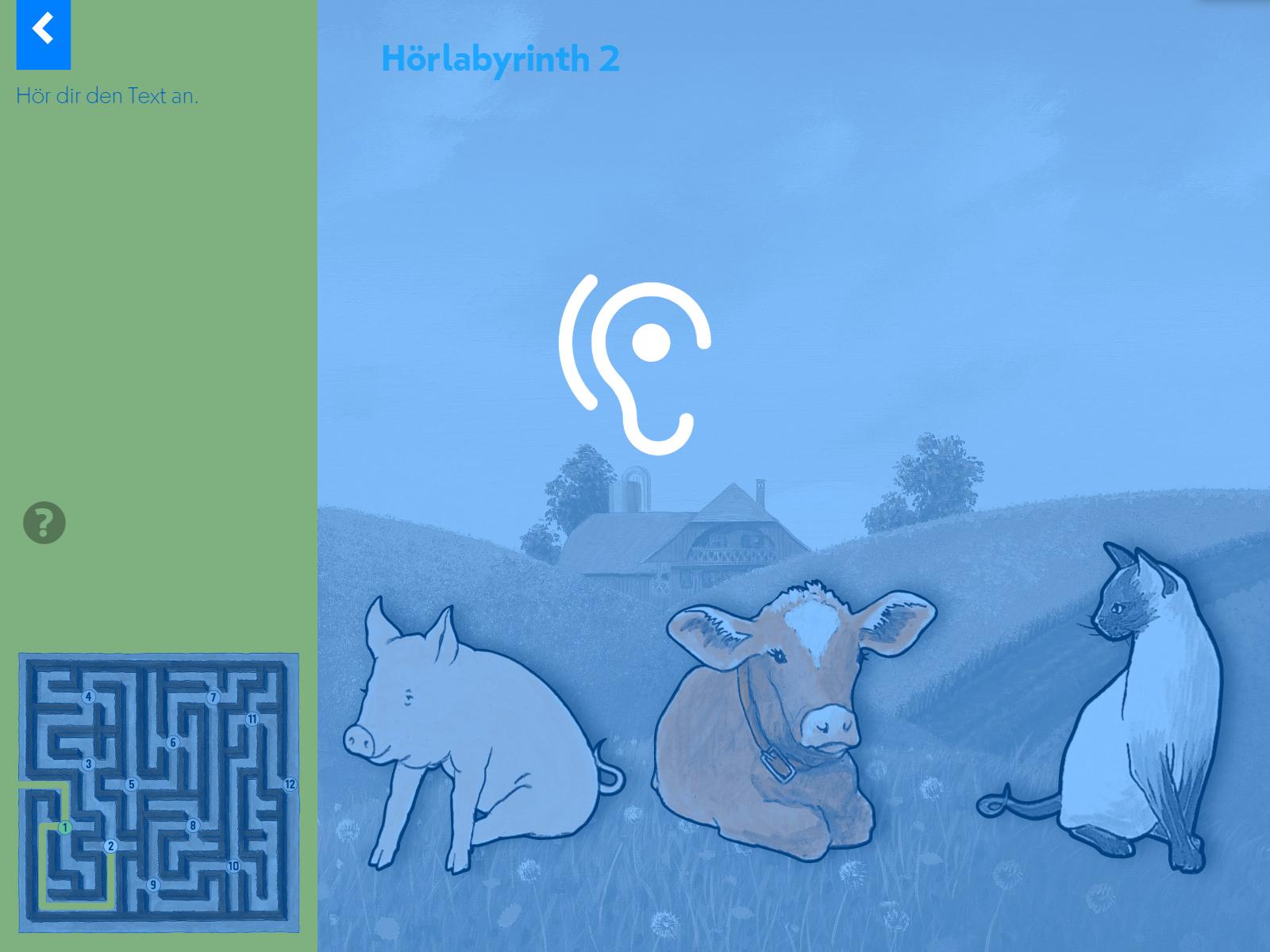 Hörlabyrinth: Tauche in die Geschichte ein und sammle dabei Figuren und Gegenstände