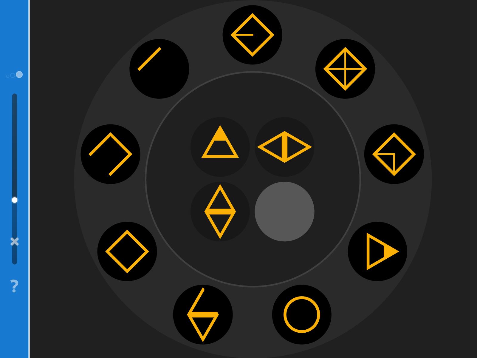 LOGO 6 – Die passende geometrische geomtrische Figur finden.